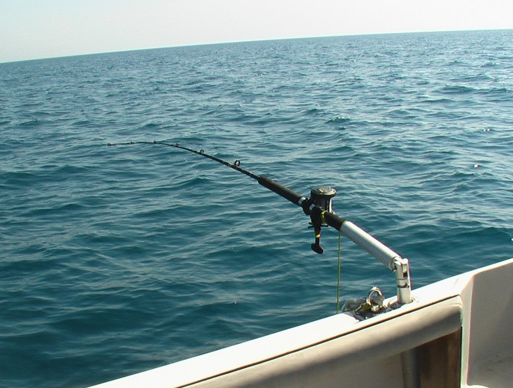 Boat rod holders fishing